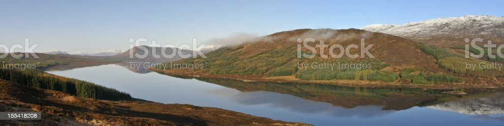 Loch Loyne stock photo