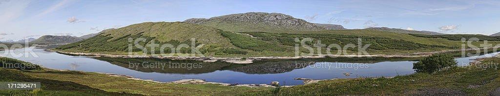 Loch Loyne, Scotland stock photo