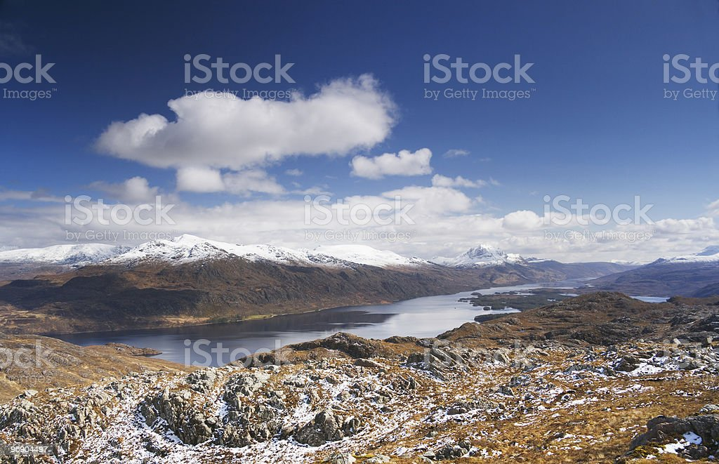 loch maree stock photo