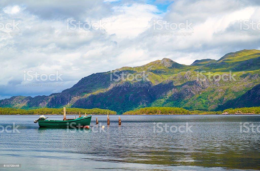 Loch Maree Scenic stock photo