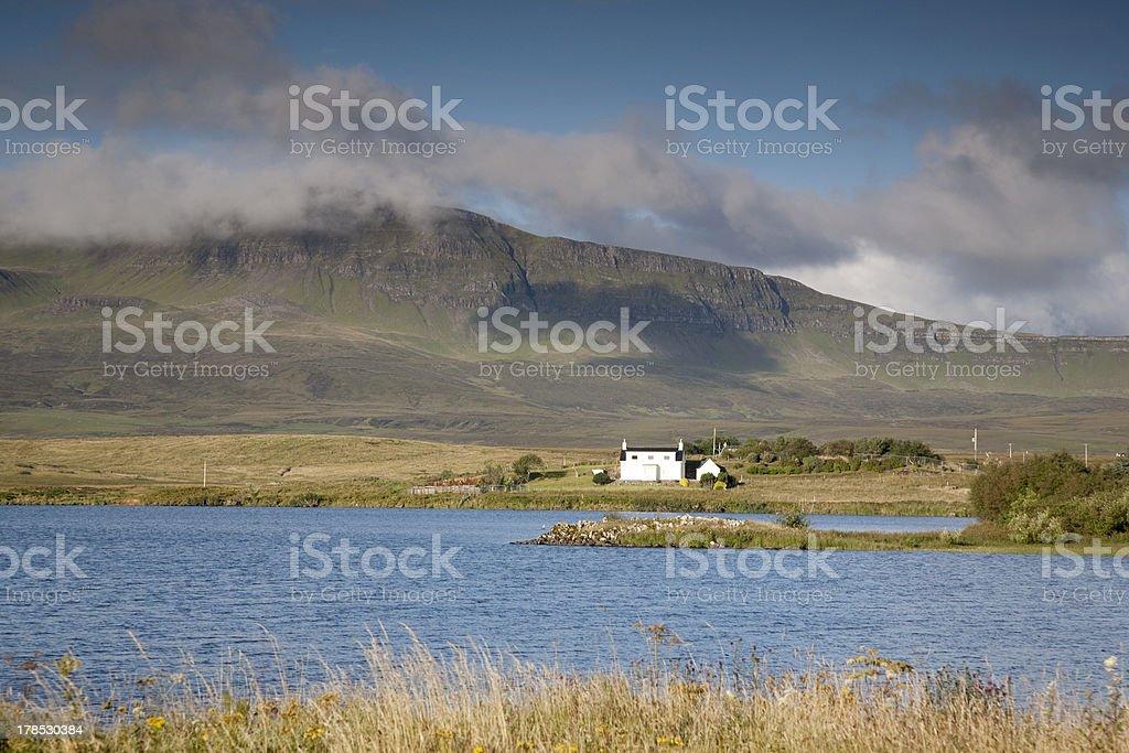 Loch Mealt, Isle of Skye royalty-free stock photo