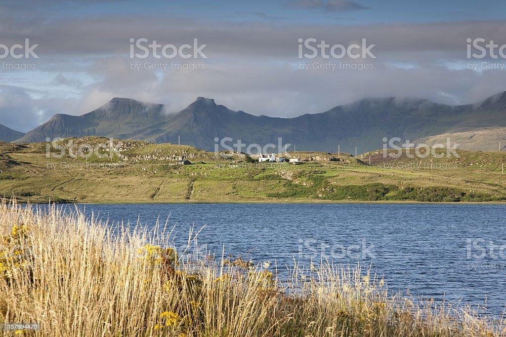 Loch Mealt; Trotternish; Isle of Skye royalty-free stock photo