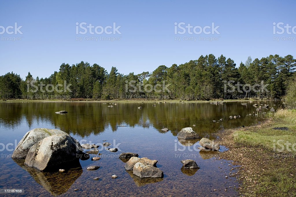 Loch Morlich royalty-free stock photo