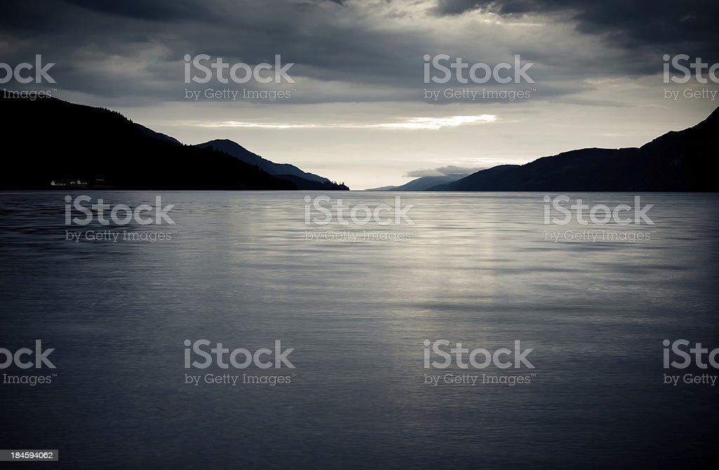 Loch Ness royalty-free stock photo