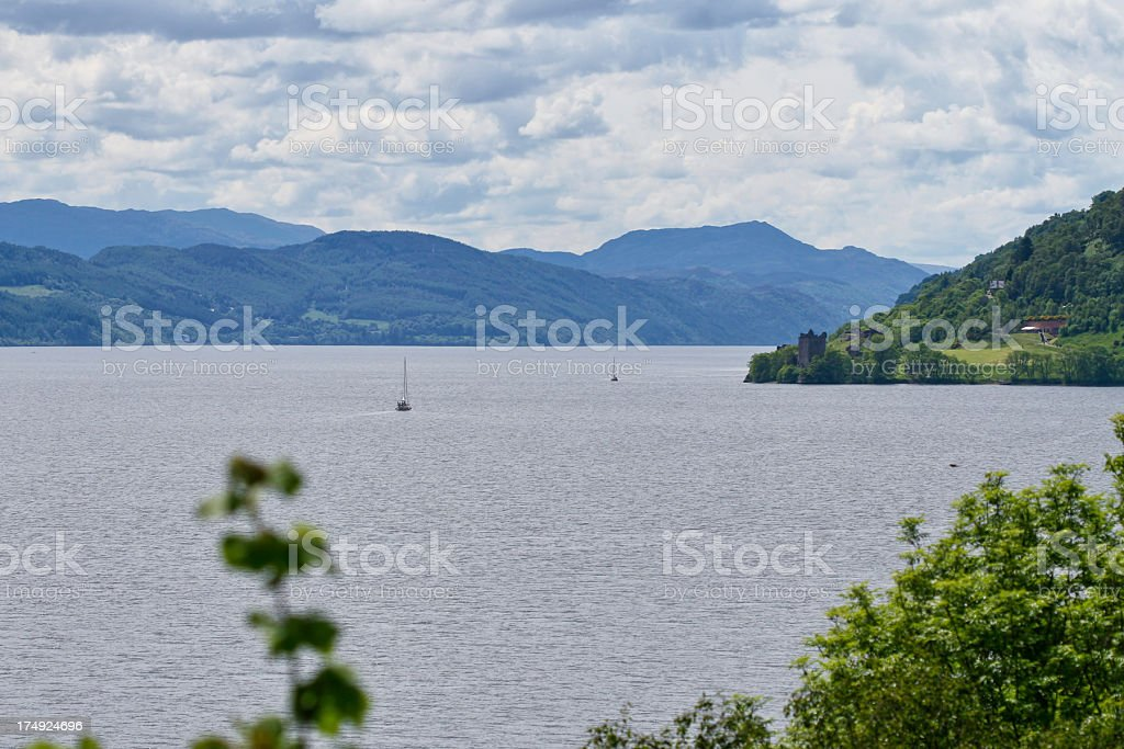 Loch Ness, Scotland royalty-free stock photo