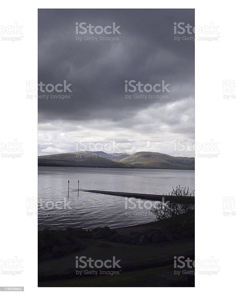 Loch royalty-free stock photo