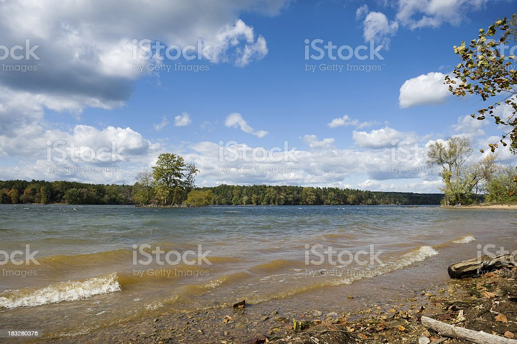 Loch Raven Reservoir Watershed Baltimore Maryland stock photo