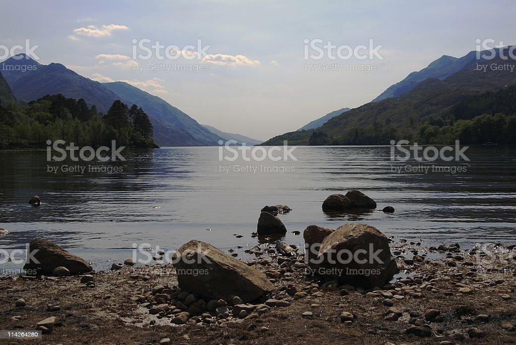 Loch Shiel royalty-free stock photo