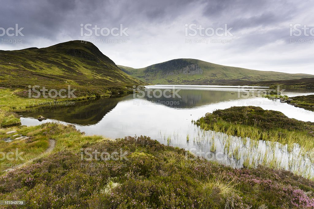 Loch Skeen Dumfries and Galloway in Scotland stock photo