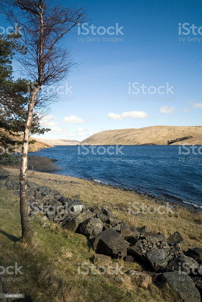 Loch St Marys stock photo