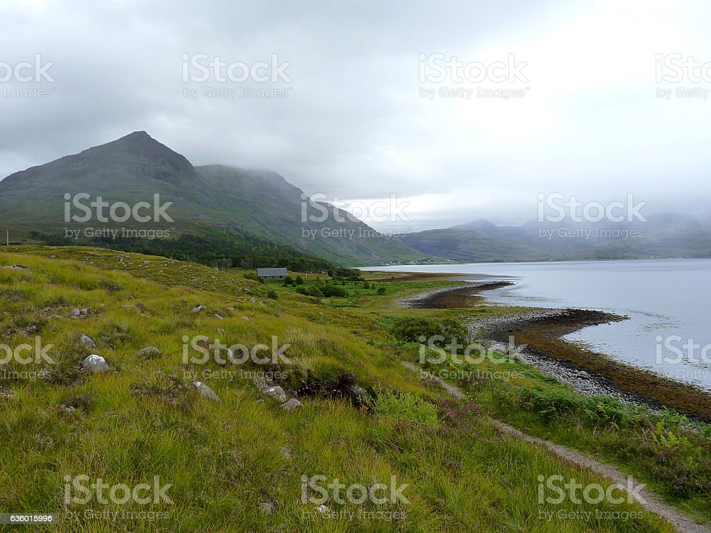 Loch Torridon stock photo