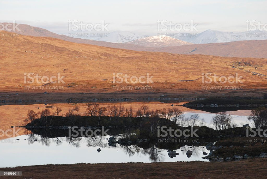 Loch Tulla stock photo