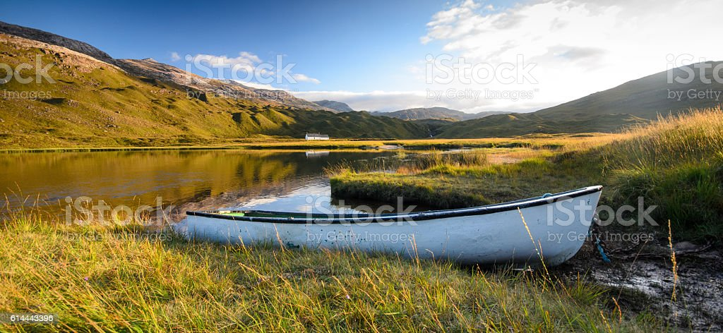 Lochan an Iasgair stock photo