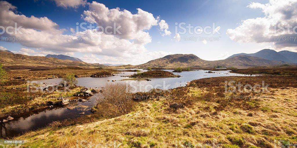 Lochan na h-Achlaise stock photo