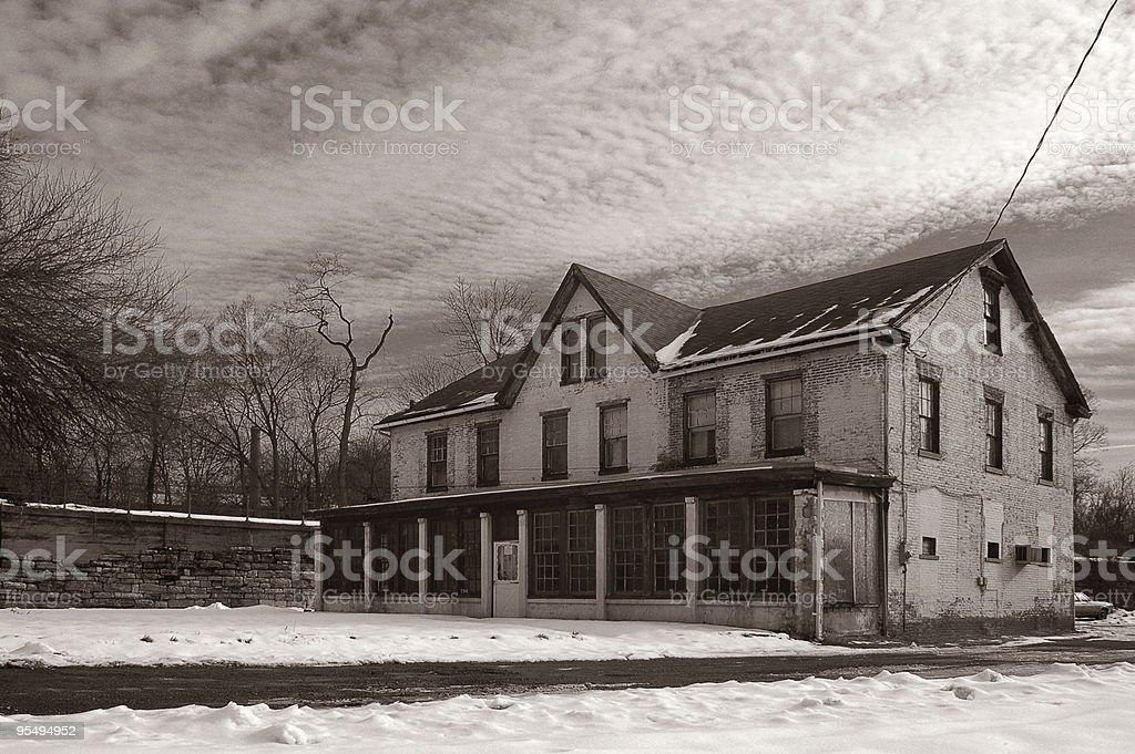 Lochiel Hotel and Bar royalty-free stock photo
