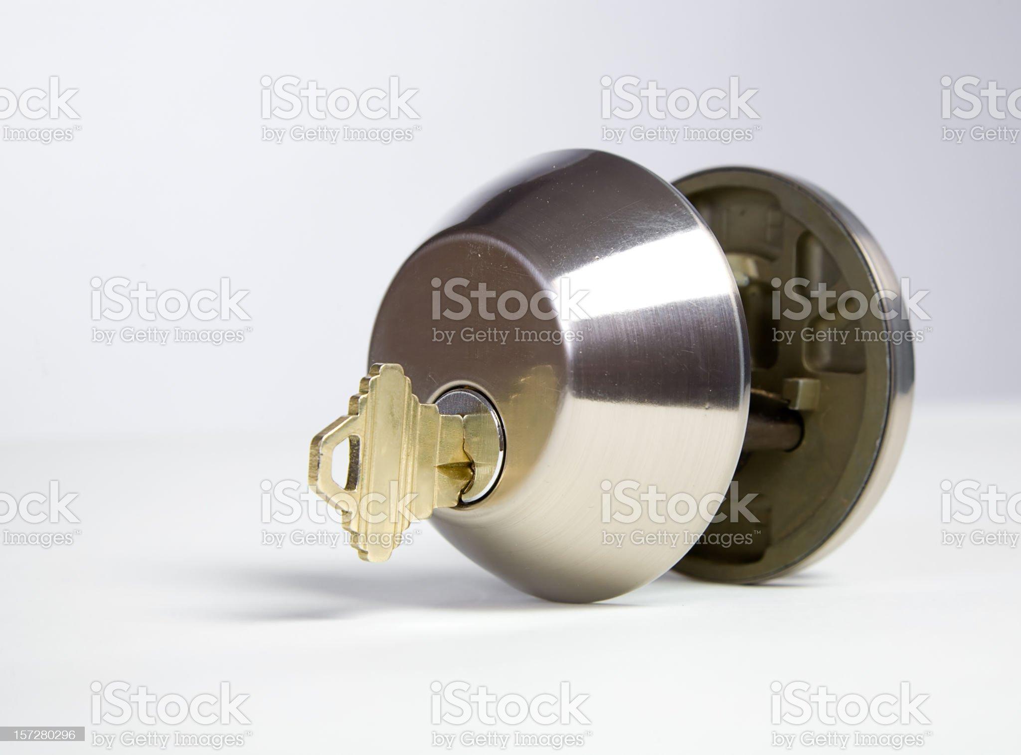 Lock and Key royalty-free stock photo