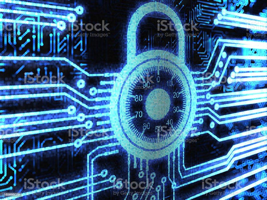 Lock background royalty-free stock photo