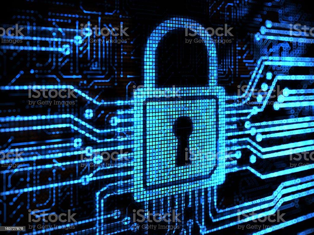Lock background v2.0 stock photo