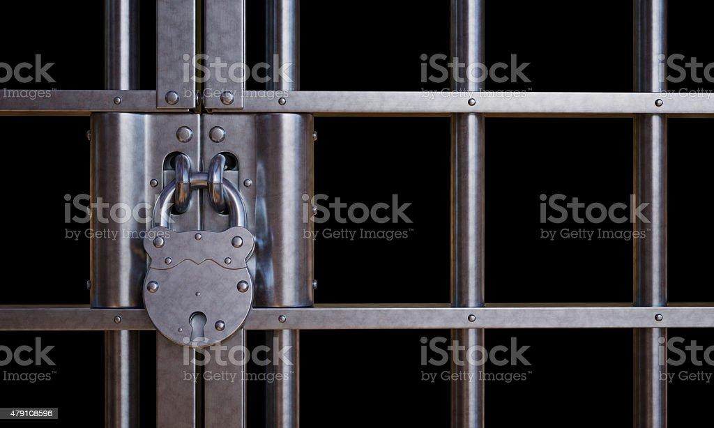 Lock Gate A02 stock photo