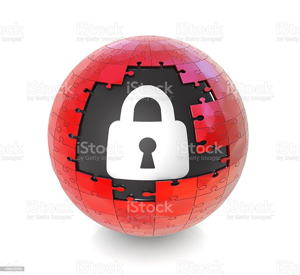 Lock Icon stock photo