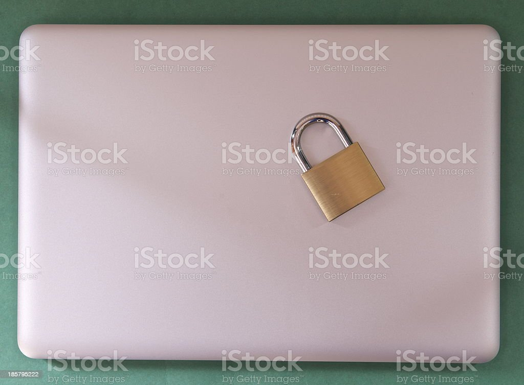 lock or lose it royalty-free stock photo