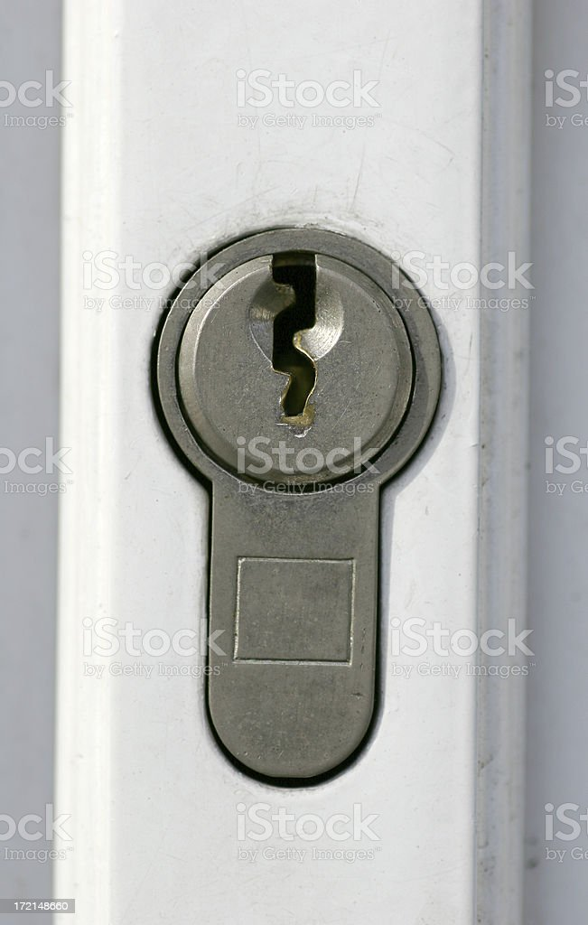 Lock royalty-free stock photo