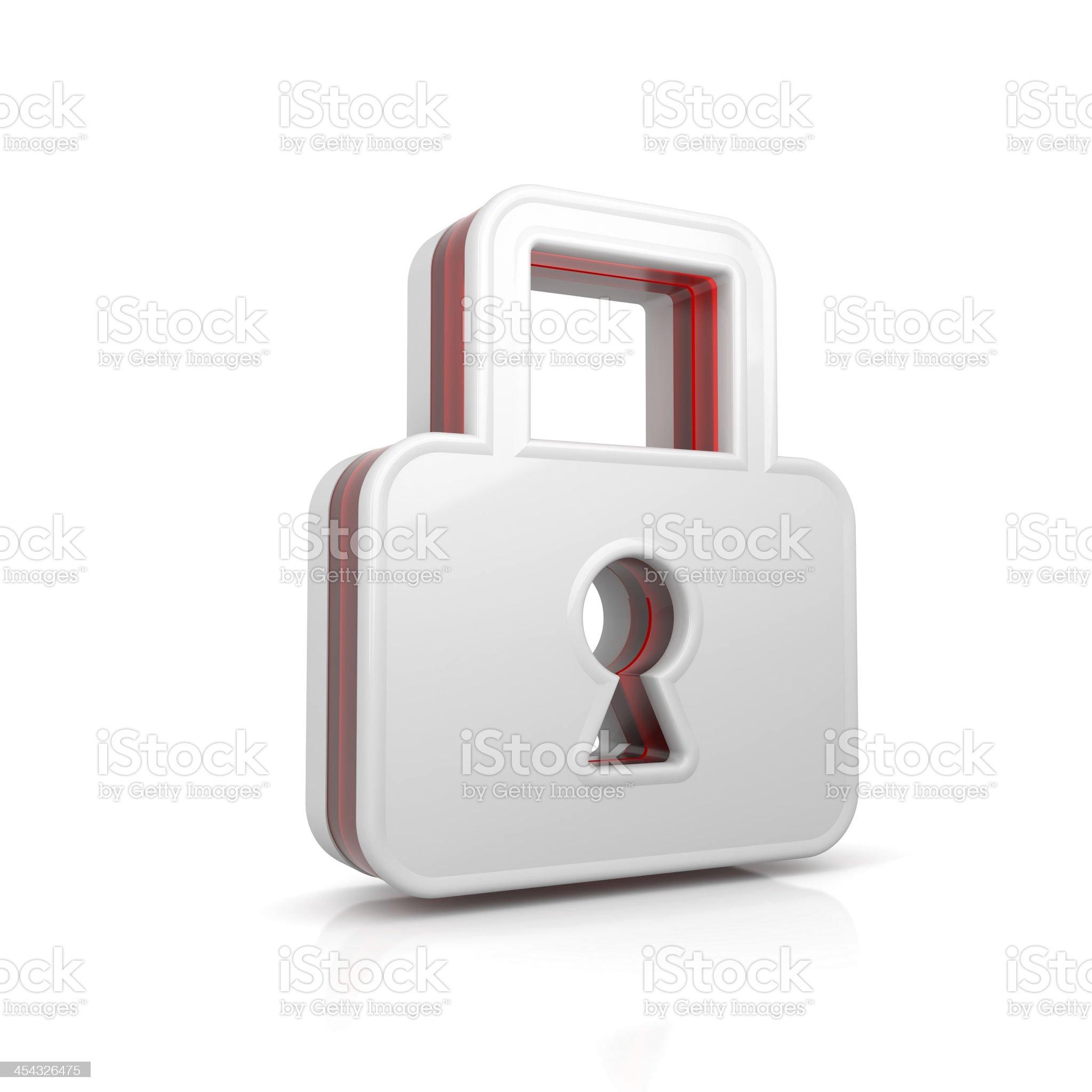 lock symbol royalty-free stock photo