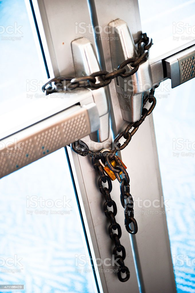 Lockdown royalty-free stock photo