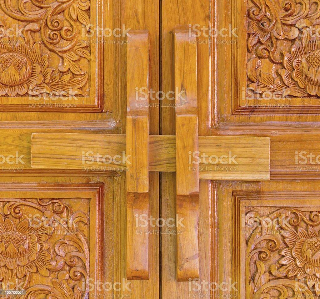 Locked Door. royalty-free stock photo