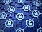 Locked network concept