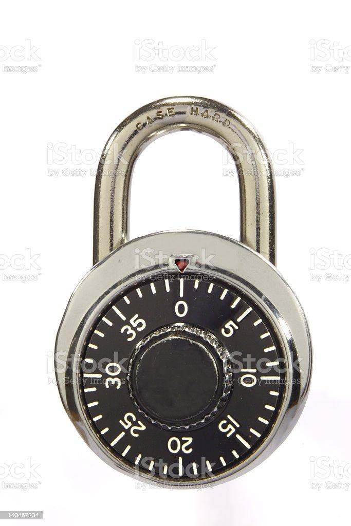 Locked Padlock royalty-free stock photo