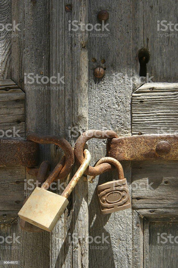 locked royalty-free stock photo