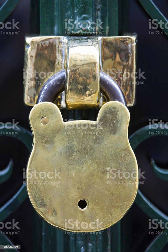 Locked Up royalty-free stock photo