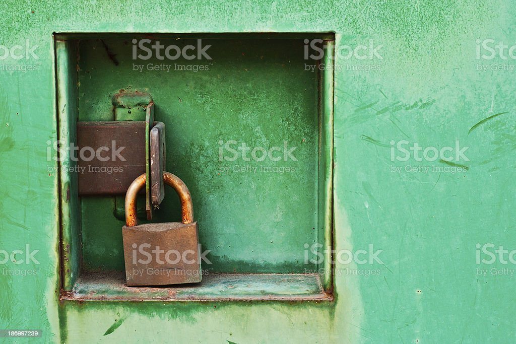 Locked up Tight royalty-free stock photo