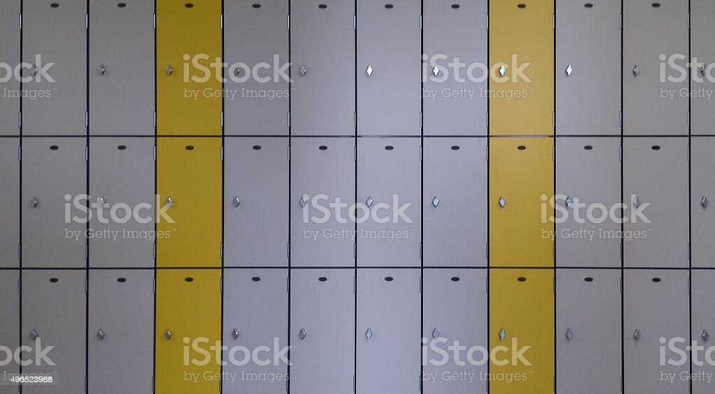 Locker In stock photo