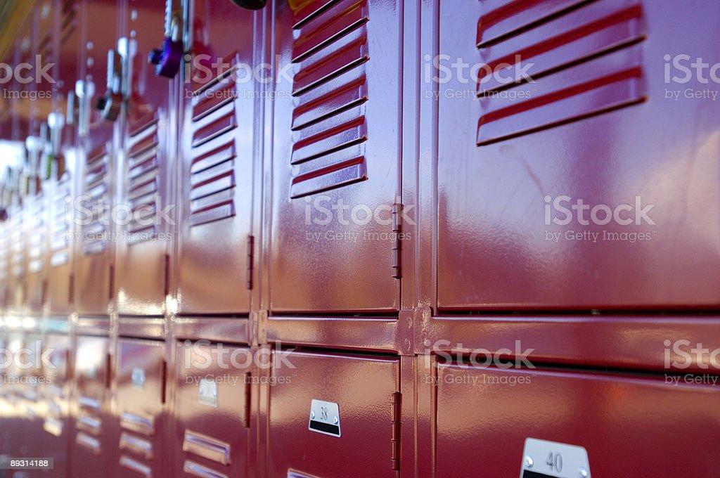 Locker stock photo