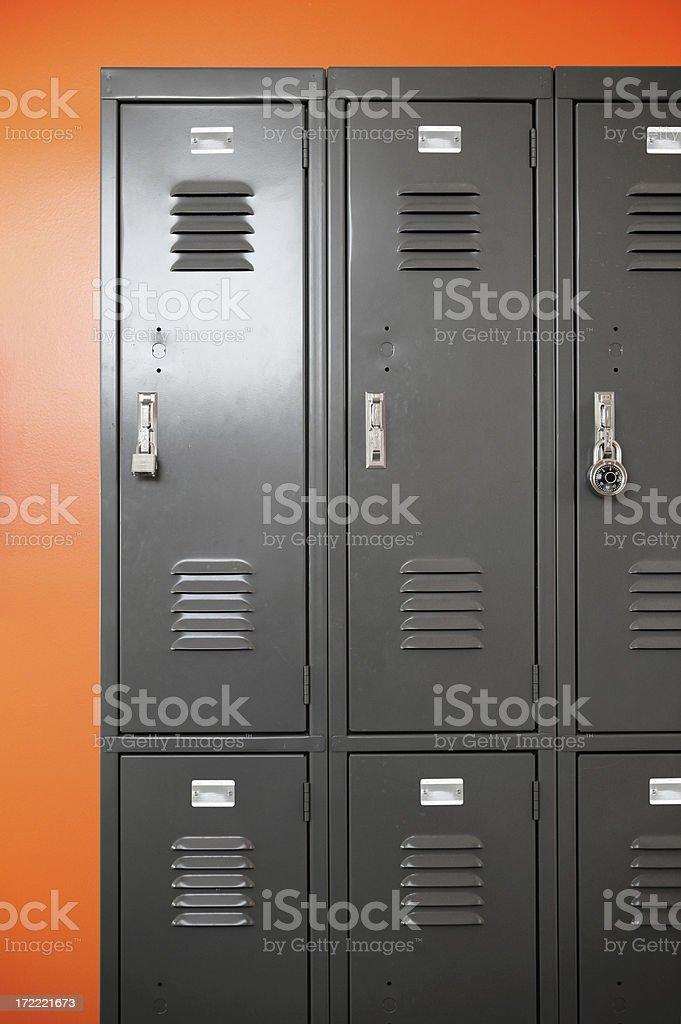 Lockers royalty-free stock photo