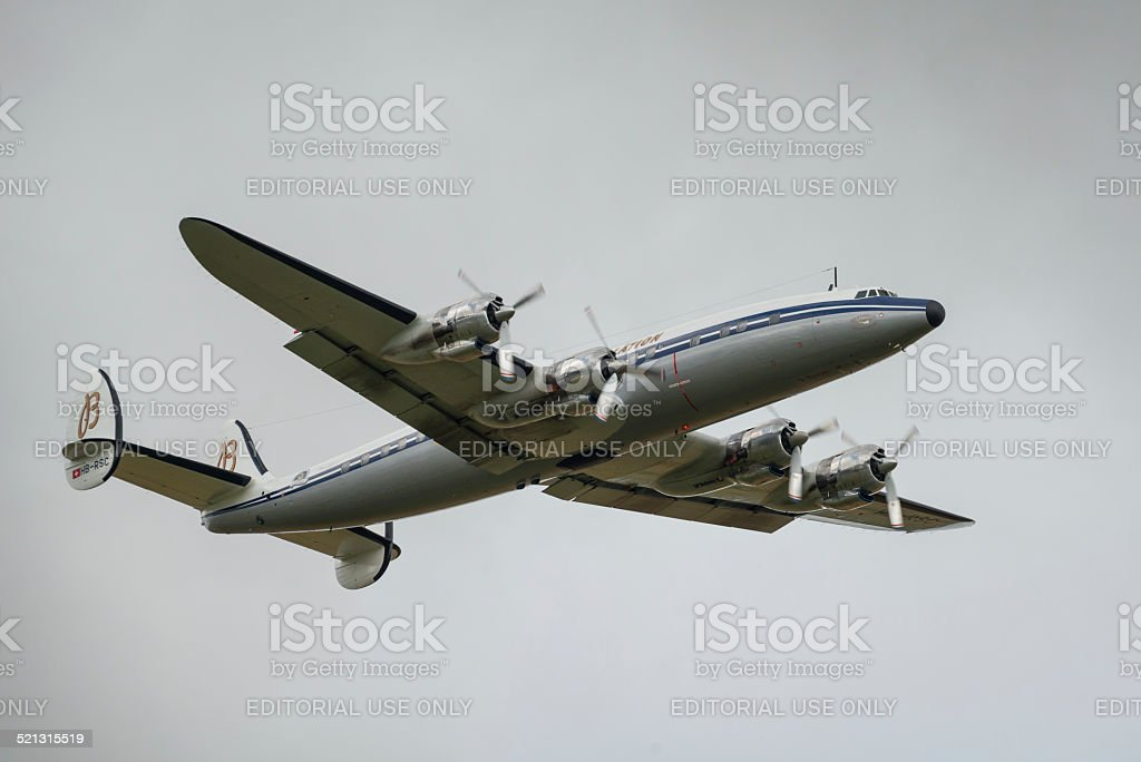 Lockheed C-121C Super Constellation stock photo
