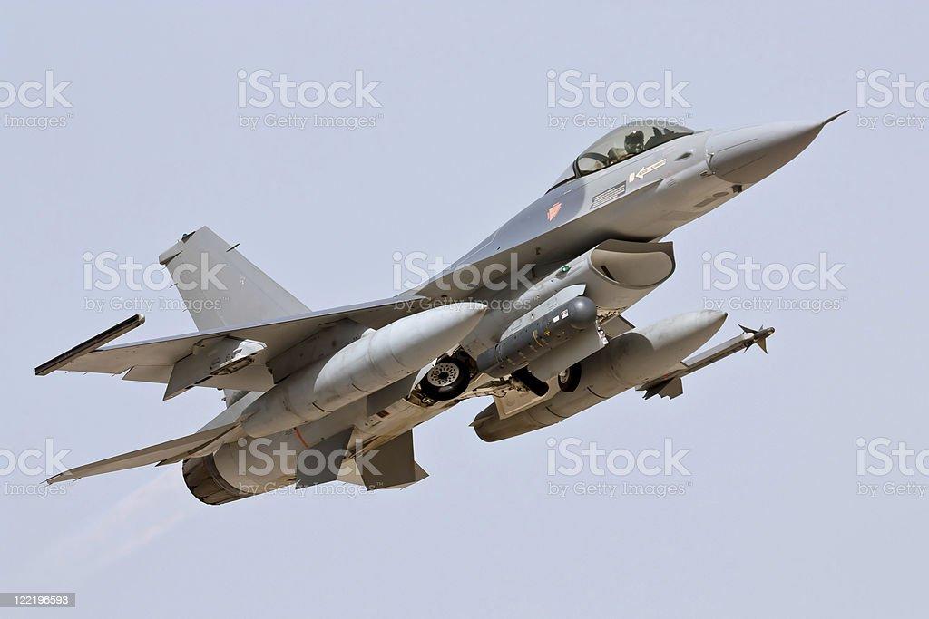 Lockheed Martin F-16 - Take Off stock photo