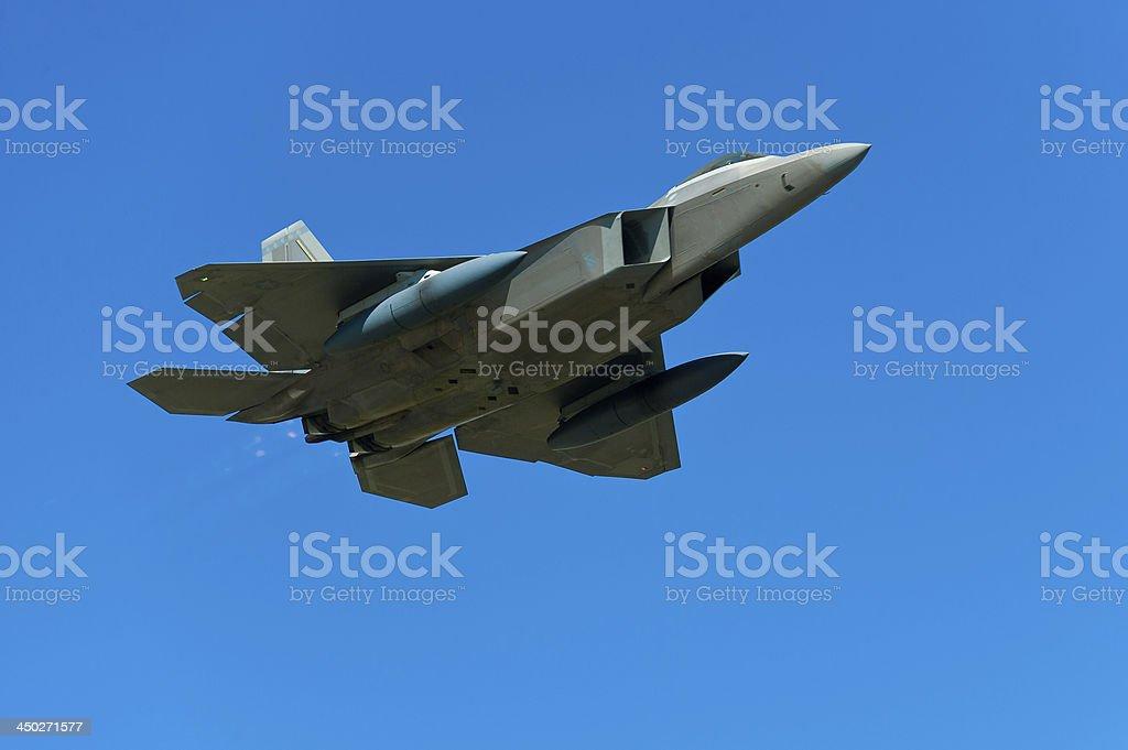 Lockheed Martin F-22 Raptor foto royalty-free