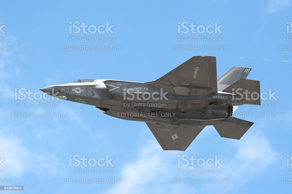 Lockheed Martin F-35B Lightning II stock photo