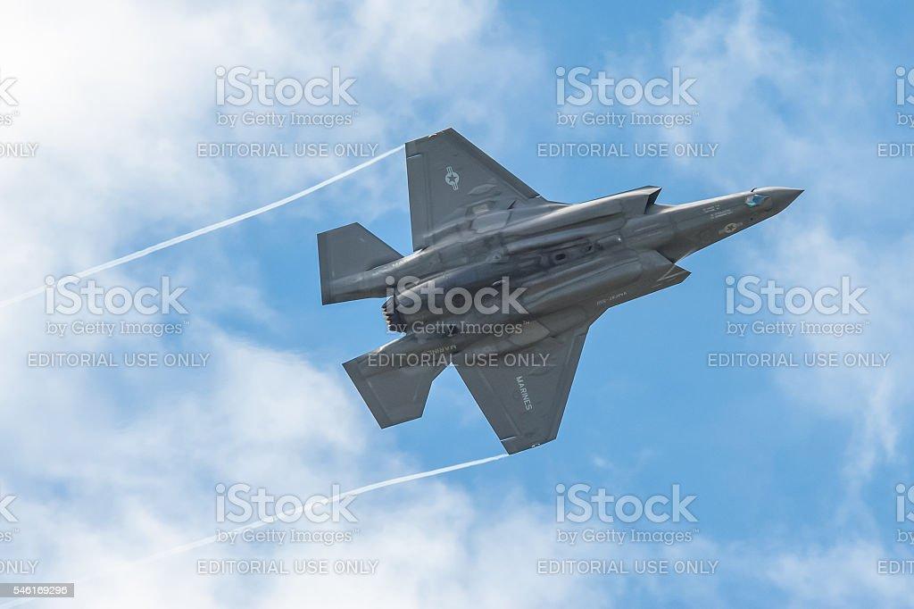 Lockheed Martin F-35B stock photo