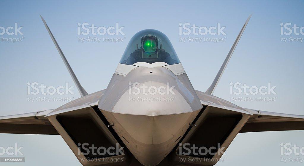 Lockheed Martin/Boeing F22 Raptor stock photo
