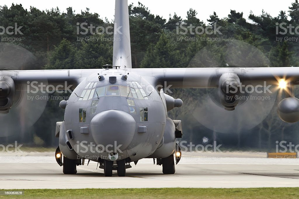 Lockheed MC-130H Hercules stock photo