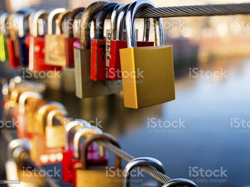 Locks stock photo