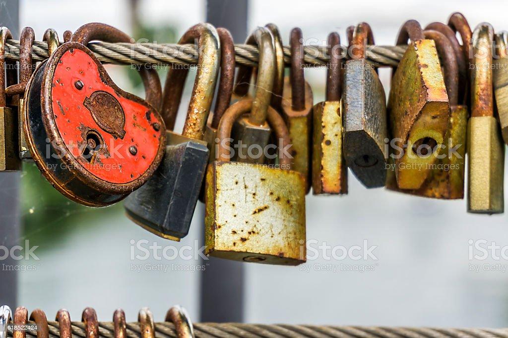 Locks stock photo