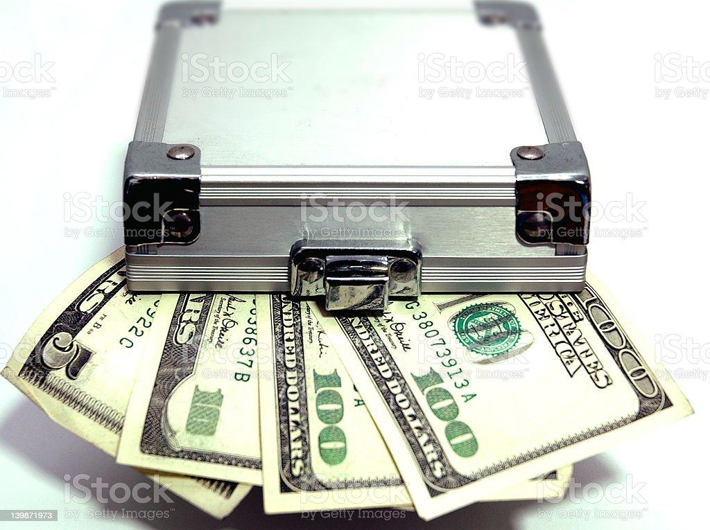 Lockup US Dollar stock photo