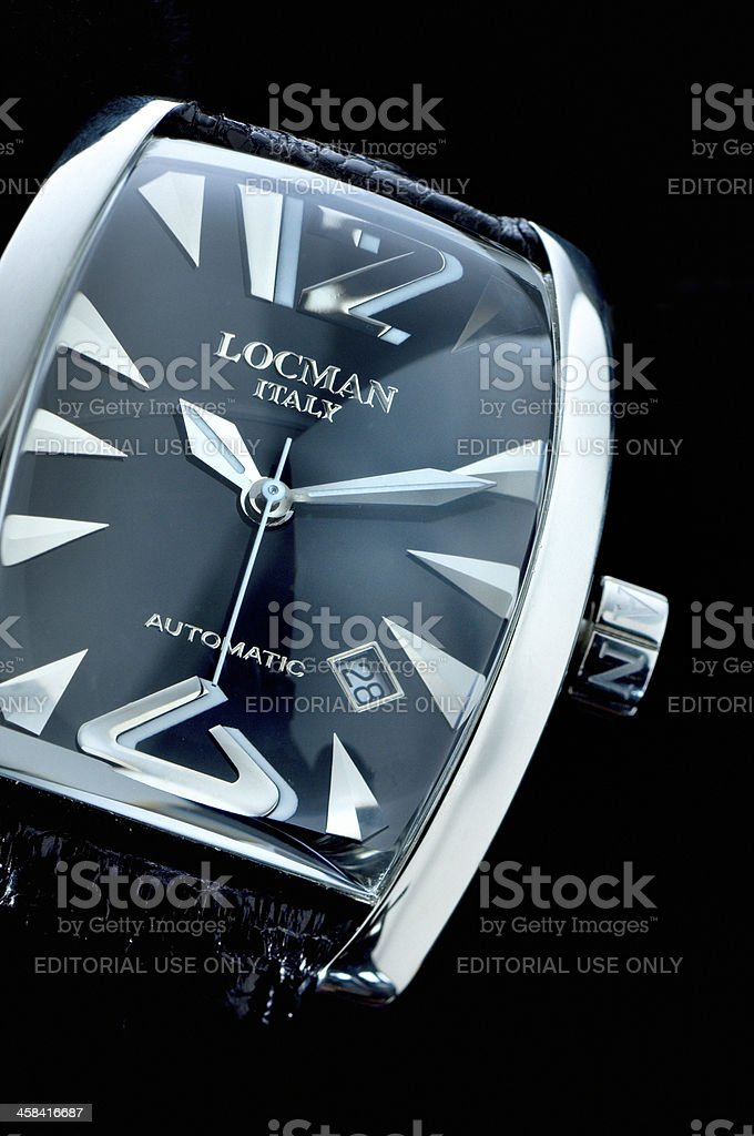 Locman Panorama wristwatch stock photo