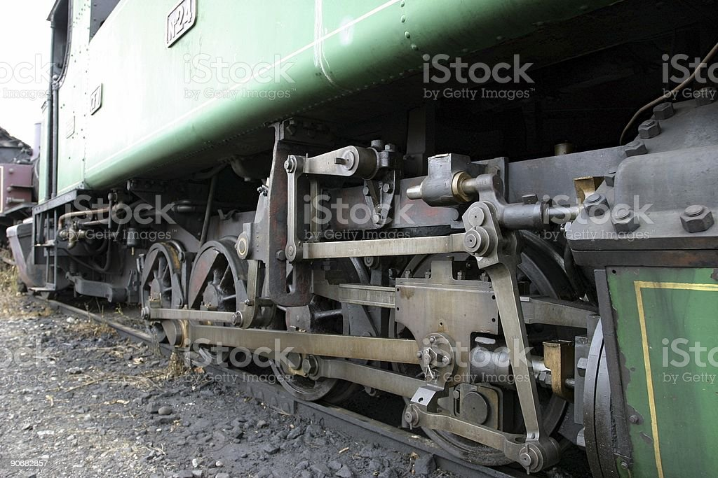locomotive detail royalty-free stock photo