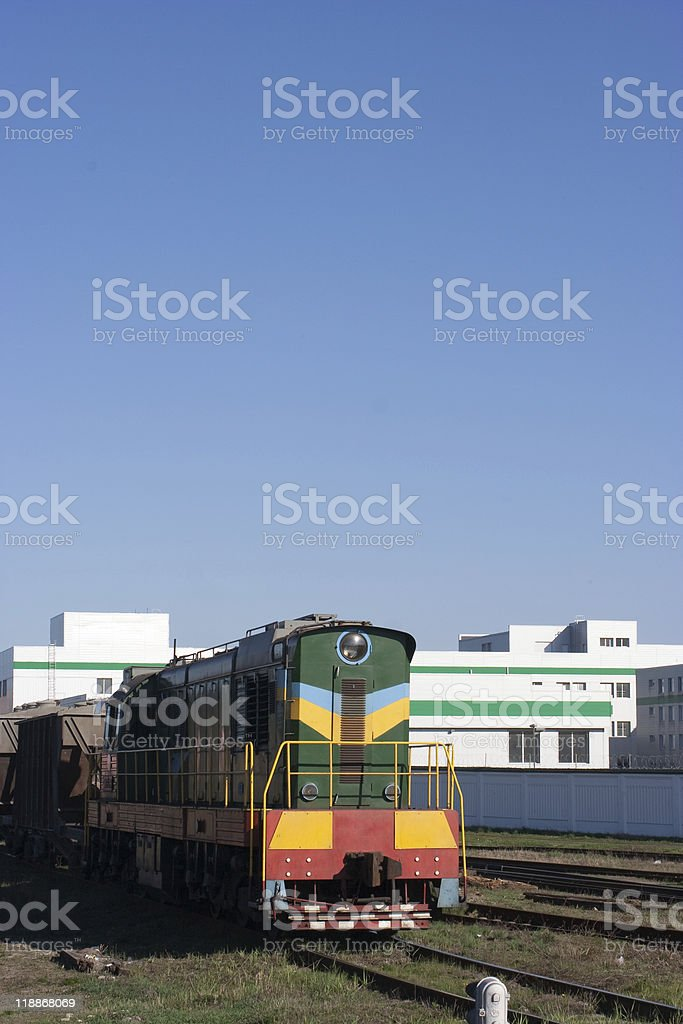Locomotive royalty-free stock photo